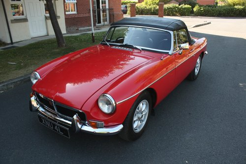 1972 MGB Roadster - Flame Red, MOT'd Running Resto Project SOLD (picture 2 of 6)
