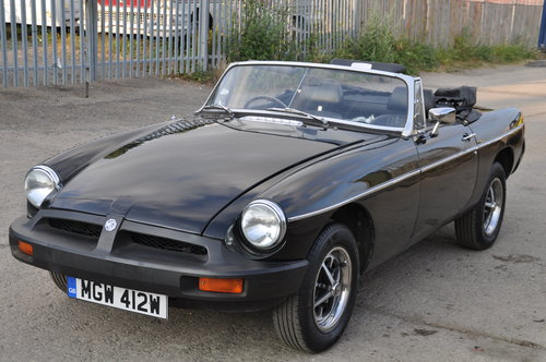 1980 MG MGB ROADSTER MOT FAILURE NICE CAR WITH POTENTIAL BARGAIN SOLD (picture 1 of 6)