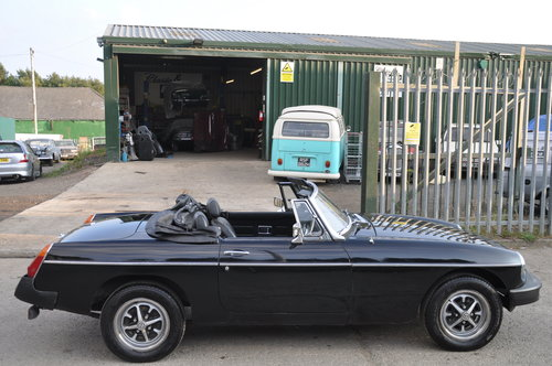 1980 MG MGB ROADSTER MOT FAILURE NICE CAR WITH POTENTIAL BARGAIN SOLD (picture 2 of 6)