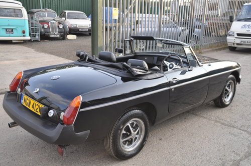 1980 MG MGB ROADSTER MOT FAILURE NICE CAR WITH POTENTIAL BARGAIN SOLD (picture 3 of 6)