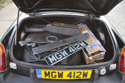 1980 MG MGB ROADSTER MOT FAILURE NICE CAR WITH POTENTIAL BARGAIN SOLD (picture 6 of 6)