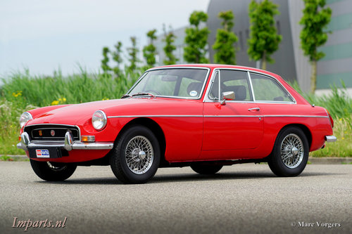 1970 Very nice MGB GT with Overdrive RHD For Sale (picture 1 of 6)