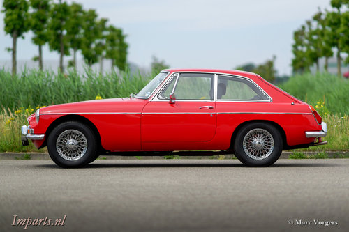 1970 Very nice MGB GT with Overdrive RHD For Sale (picture 6 of 6)