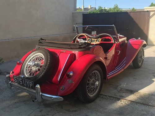 1954 MG Midget TF Roadster LHD, Supplied new to Belguim FIVA For Sale (picture 2 of 6)