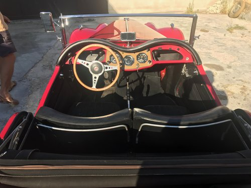 1954 MG Midget TF Roadster LHD, Supplied new to Belguim FIVA For Sale (picture 3 of 6)