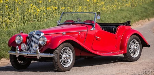 1954 MG Midget TF Roadster LHD, Supplied new to Belguim FIVA For Sale (picture 4 of 6)
