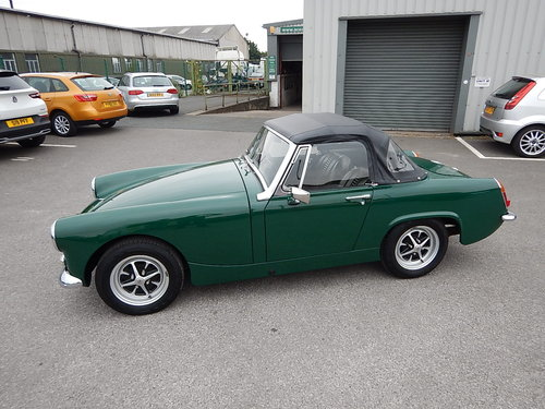 1969 MG Midget Mklll ~ Fully Restored in 2005 ~  SOLD (picture 1 of 6)