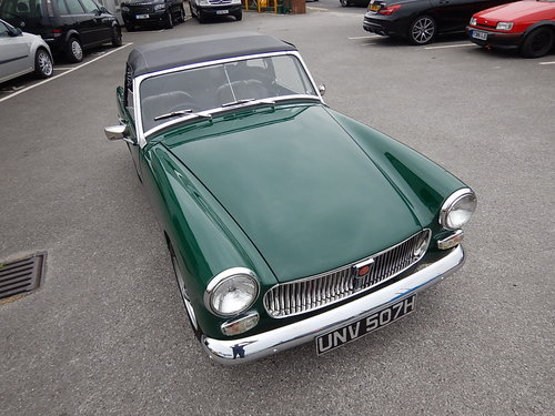 1969 MG Midget Mklll ~ Fully Restored in 2005 ~  SOLD (picture 2 of 6)