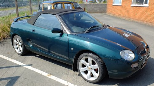 MGF 1998 45k Miles BRG 1800 VVC - Excell Condition For Sale (picture 1 of 5)