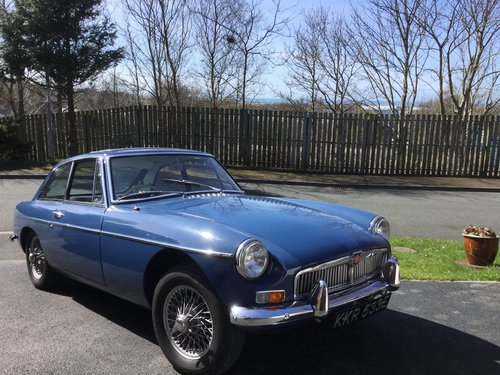 Mark 1 1967 MGB GT in Mineral Blue SOLD | Car And Classic