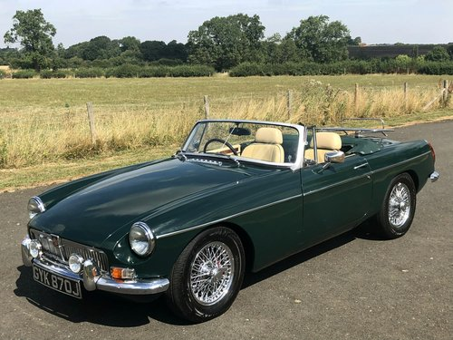 1971 MG MGB Roadster 5 Speed SOLD (picture 1 of 6)