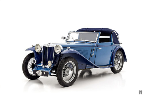 1939 MG TB Tickford Drophead Coupe For Sale (picture 1 of 6)