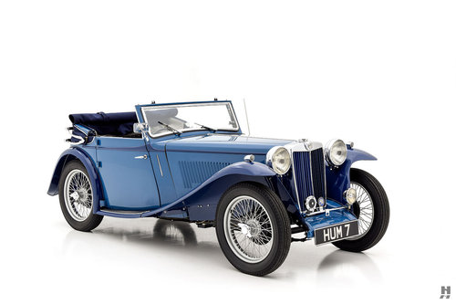 1939 MG TB Tickford Drophead Coupe For Sale (picture 2 of 6)