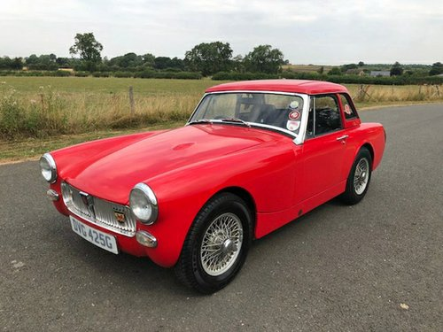 1969 MG Midget MK III 1275cc SOLD (picture 1 of 6)