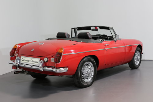 1977 A pampered and cherished MG B Roadster UPC490S SOLD (picture 2 of 6)