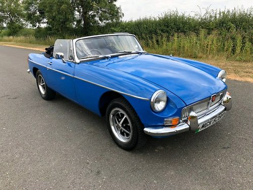 1975 MGB Roadster Manual with Overdrive SOLD (picture 3 of 6)