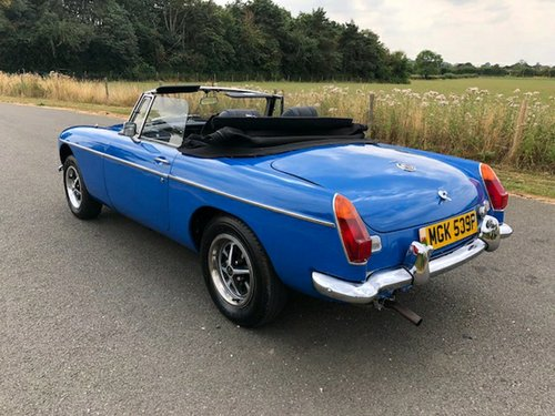 1975 MGB Roadster Manual with Overdrive SOLD (picture 4 of 6)