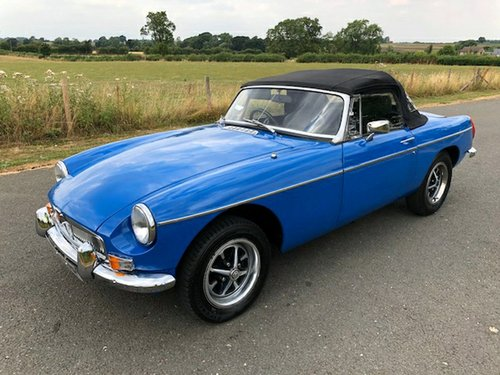 1975 MGB Roadster Manual with Overdrive SOLD (picture 6 of 6)