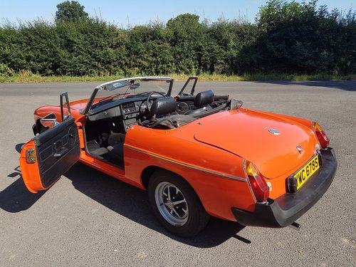 1978 MG MGB Roadster - very low mileage SOLD (picture 3 of 6)