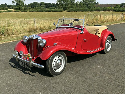 2599 1950 MG TD 1250cc SOLD (picture 1 of 6)