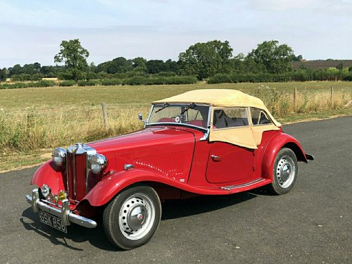 2599 1950 MG TD 1250cc SOLD (picture 4 of 6)