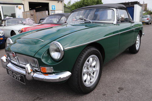 1968 MGC Roadster, Bare shell rebuild by MG Specialist, SOLD (picture 1 of 6)