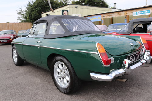 1968 MGC Roadster, Bare shell rebuild by MG Specialist, SOLD (picture 2 of 6)
