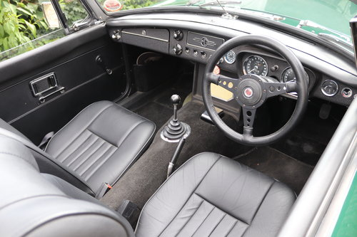 1968 MGC Roadster, Bare shell rebuild by MG Specialist, SOLD (picture 3 of 6)