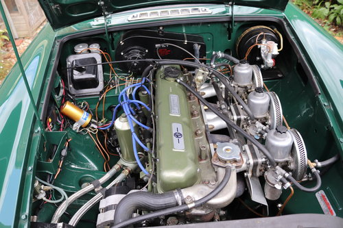 1968 MGC Roadster, Bare shell rebuild by MG Specialist, SOLD (picture 4 of 6)