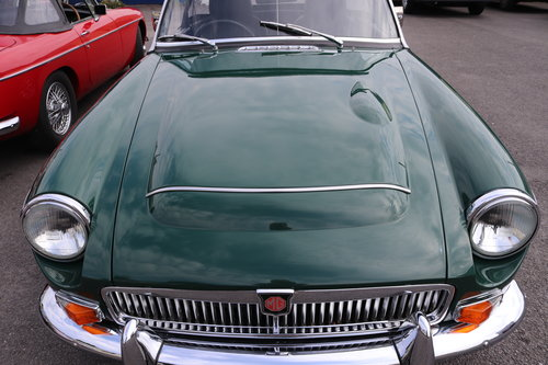 1968 MGC Roadster, Bare shell rebuild by MG Specialist, SOLD (picture 5 of 6)