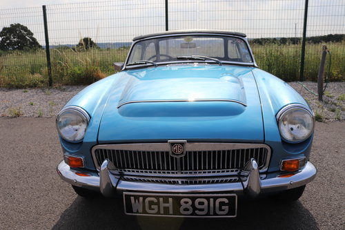 1968 MGC Roadster, Bare shell rebuild by MG Specialist, SOLD (picture 6 of 6)