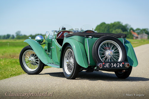 1948 MG TC Midget Almond green Top condition For Sale (picture 3 of 6)
