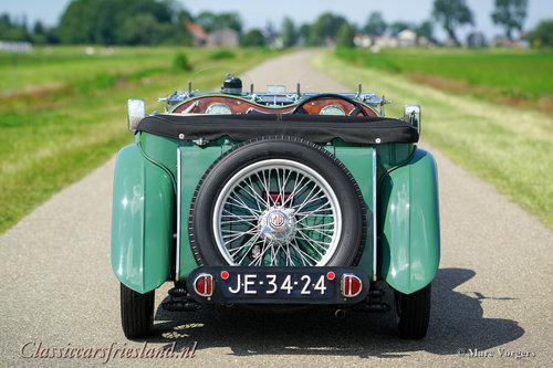 1948 MG TC Midget Almond green Top condition For Sale (picture 4 of 6)