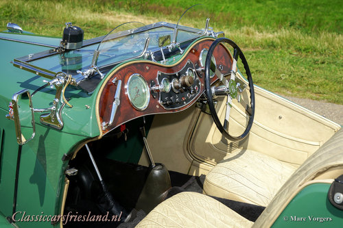1948 MG TC Midget Almond green Top condition For Sale (picture 5 of 6)