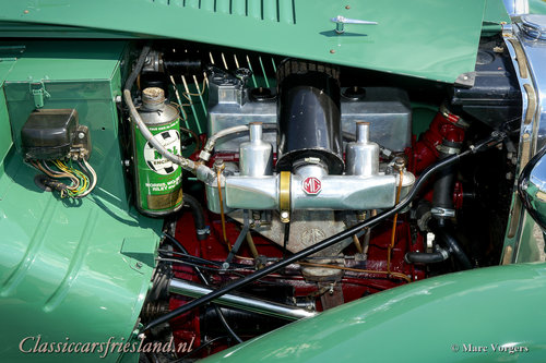 1948 MG TC Midget Almond green Top condition For Sale (picture 6 of 6)