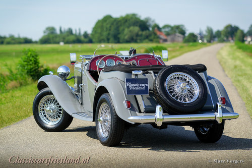 1954 MG TD MIDGET DOVE GREY  EXELLENT CONDITION For Sale (picture 3 of 6)