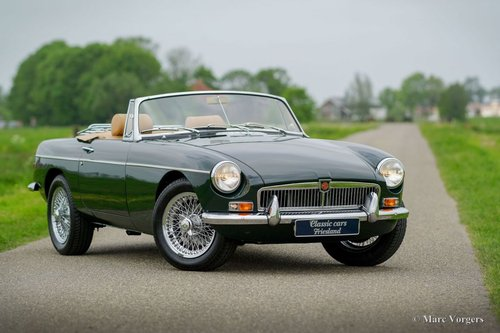 1969 MGB ROADSTER BRITISH RACING GREEN MINT CONDITION For Sale (picture 1 of 6)