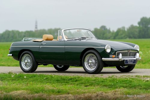 1969 MGB ROADSTER BRITISH RACING GREEN MINT CONDITION For Sale (picture 2 of 6)