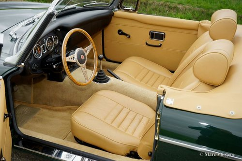 1969 MGB ROADSTER BRITISH RACING GREEN MINT CONDITION For Sale (picture 4 of 6)