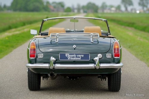 1969 MGB ROADSTER BRITISH RACING GREEN MINT CONDITION For Sale (picture 5 of 6)