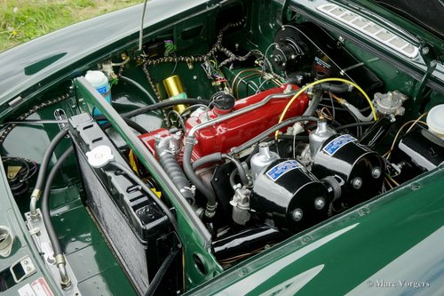 1969 MGB ROADSTER BRITISH RACING GREEN MINT CONDITION For Sale (picture 6 of 6)