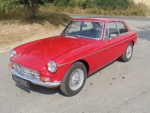 1967 MG BGT SOLD (picture 1 of 6)