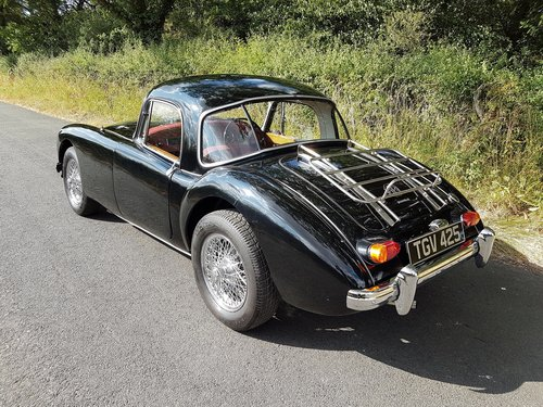 1962 MGA Coupe 1600 - Previously restored. SOLD (picture 3 of 6)