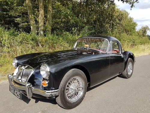 1962 MGA Coupe 1600 - Previously restored. SOLD (picture 4 of 6)