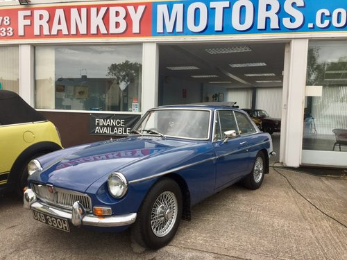 1969 MGB GT 1.8 with Webesto Sun roof For Sale (picture 1 of 5)