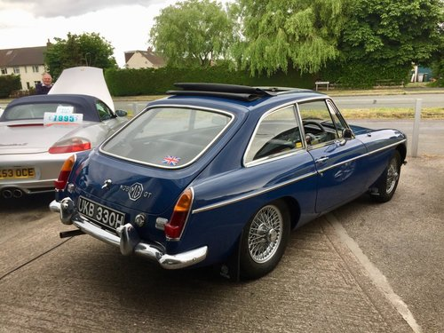 1969 MGB GT 1.8 with Webesto Sun roof For Sale (picture 5 of 5)