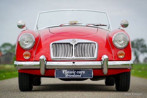 1959 MGA 1600 ROADSTER TOP RESTORED CONDITION SOLD (picture 1 of 6)
