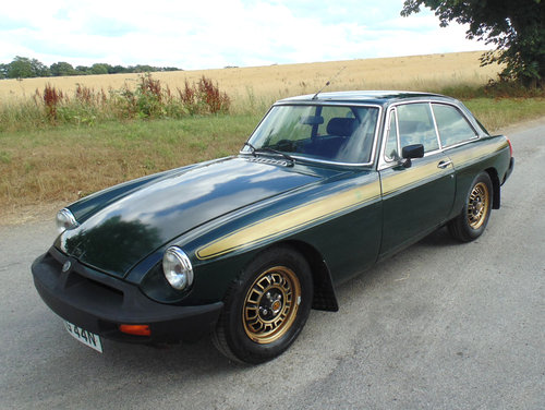 1975 MG BGT Jubilee Edition SOLD (picture 1 of 6)