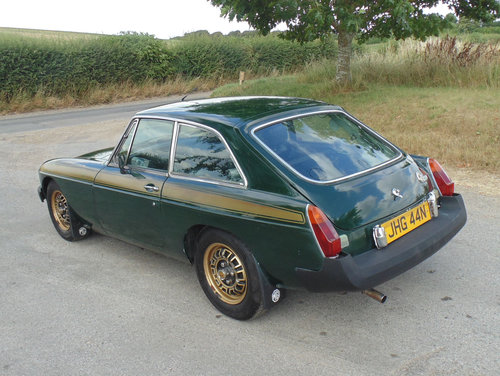 1975 MG BGT Jubilee Edition SOLD (picture 3 of 6)