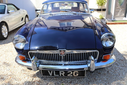 1968 MGB Roadster, mk2, Midnight blue, VLR 2G SOLD (picture 2 of 6)
